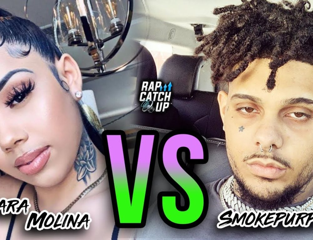 Smokepurpp Roasts 6IX9INE's BM Sara Molina on Live + She Responds