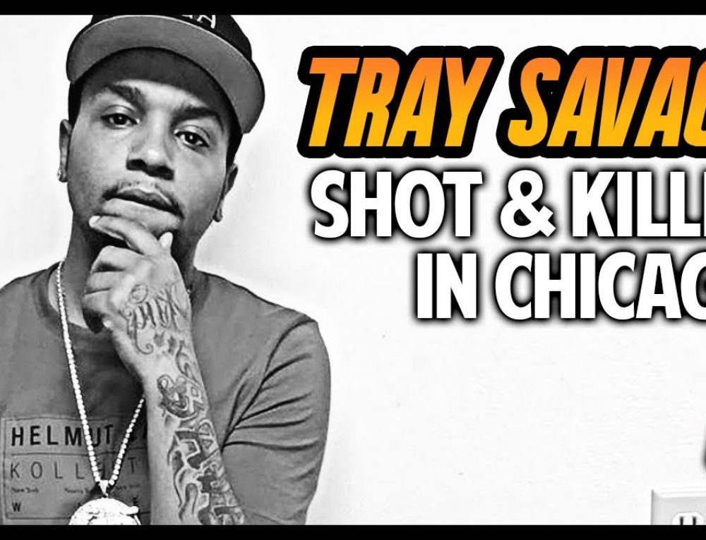 Glo Gang's Tray Savage Shot + Killed in Chatham, Chicago