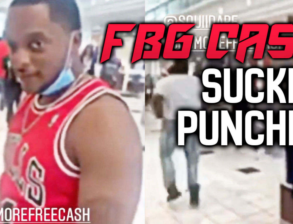 FBG Cash gets Sucker Punched in Lenox Mall, Atlanta + Responds