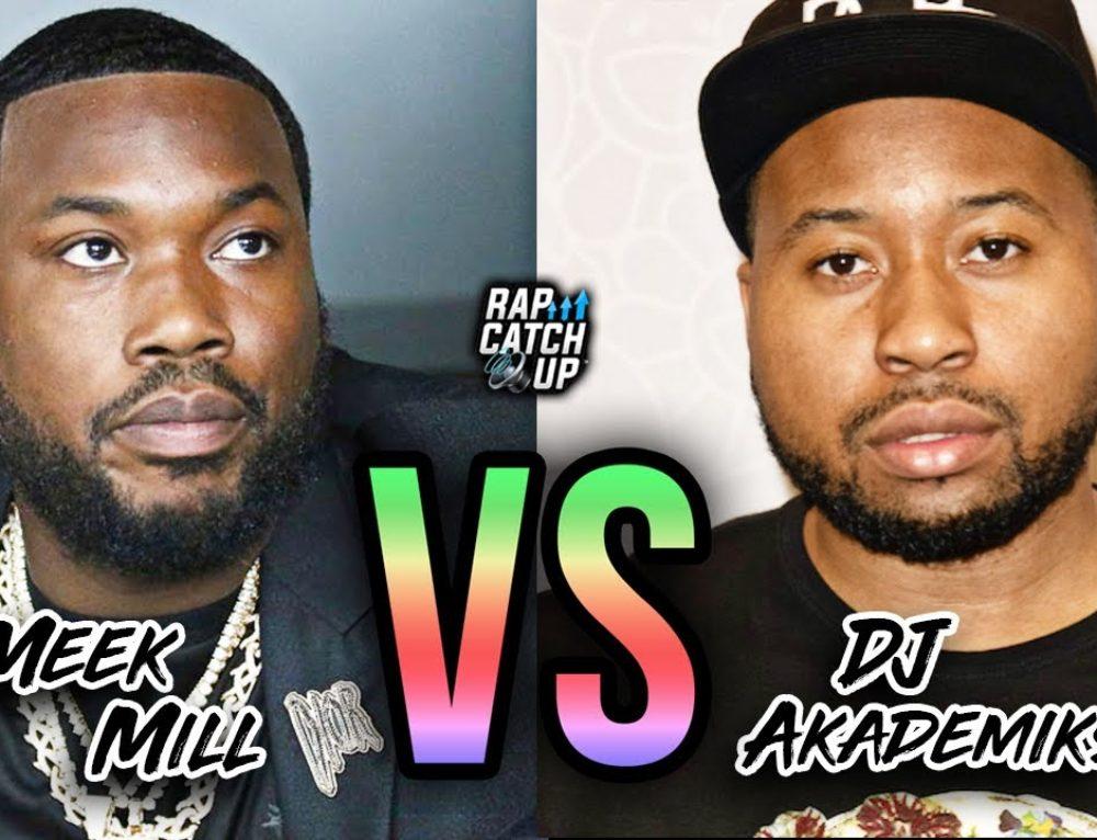 Meek Mill VS DJ Akademiks: Twitter Beef