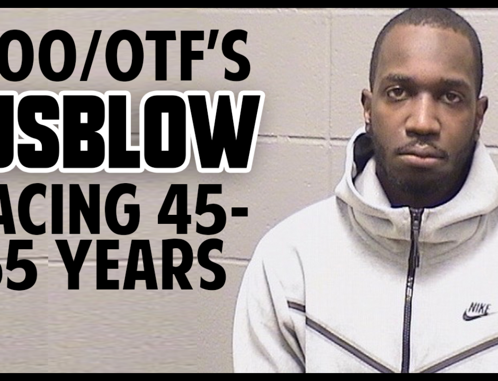 OTF/600's Jusblow Facing 45-65 Years in Prison over 2017 Murder in Indiana