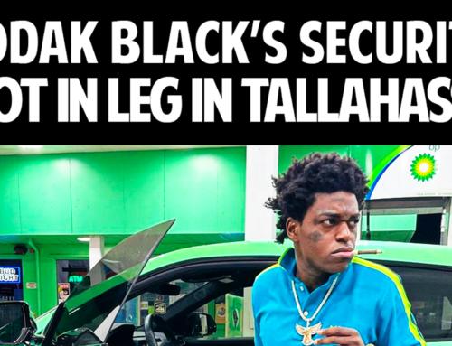 Kodak Black Targeted in Shooting in FL, Security Guard Shot in Leg